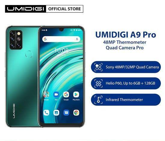 UMIDIGI A9 Pro é novo intermediário com sensor de temperatura corporal.<br><br> - Foto 2
