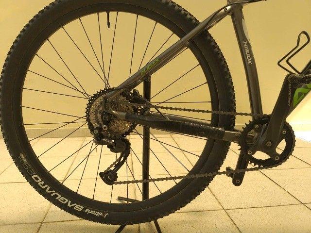 Bicicleta MTB Audax Aro 29 1x9 V, aceito speed como parte do pagamento.  - Foto 4
