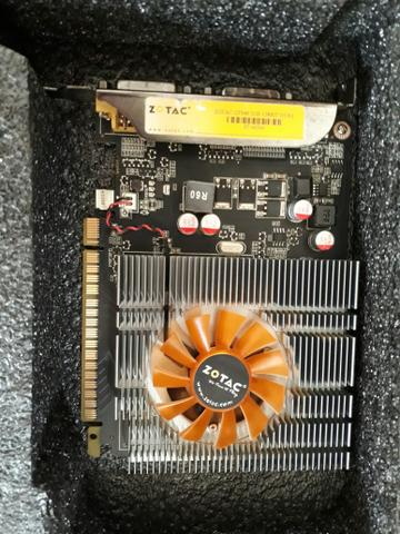 Placa de vídeo Gt 640 2gb Zotac