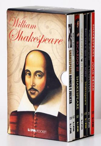 Caixa especial shakespeare 7 volumes-l&pm pocket