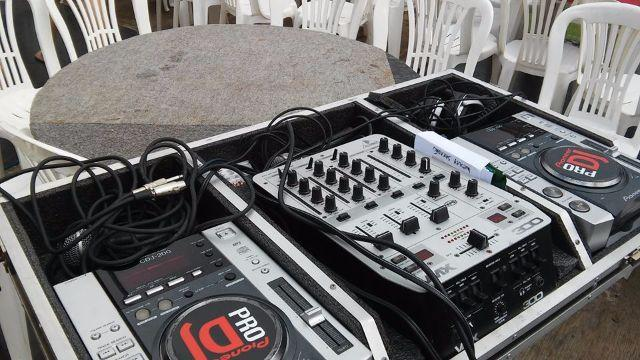 Cdj e placa interface