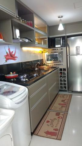 Excelente Apto, ültimo andar, peças amplas, ótimo p/ adequação dos móveis, semi-mobiliado - Foto 4