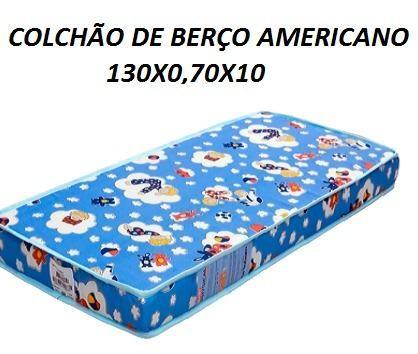 Oferta Imperdivel de Colchão de Berço Americano Novo Apenas 129,00