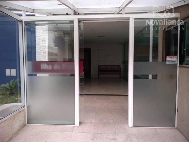 Apartamento com 3 dormitórios à venda, 78 m² por R$ 340.000 - Jardim Camburi - Vitória/ES - Foto 6