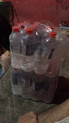 Vendo água mineral