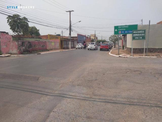 Terreno de esquina comercial à venda, 280 m² por R$ 500.000 - CPA I - Cuiabá/MT - Foto 4