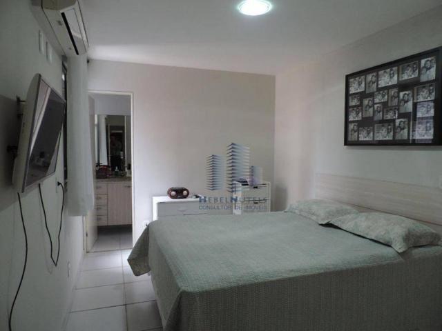 Apartamento com 4 dormitórios à venda, 133 m² por R$ 750.000 - Jatiúca - Maceió/AL - Foto 15