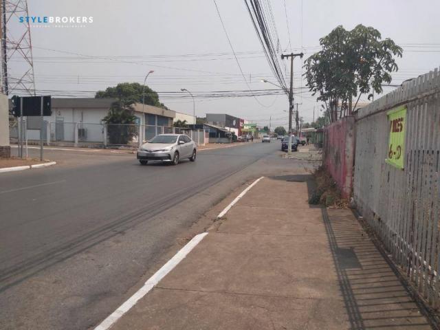 Terreno de esquina comercial à venda, 280 m² por R$ 500.000 - CPA I - Cuiabá/MT - Foto 3