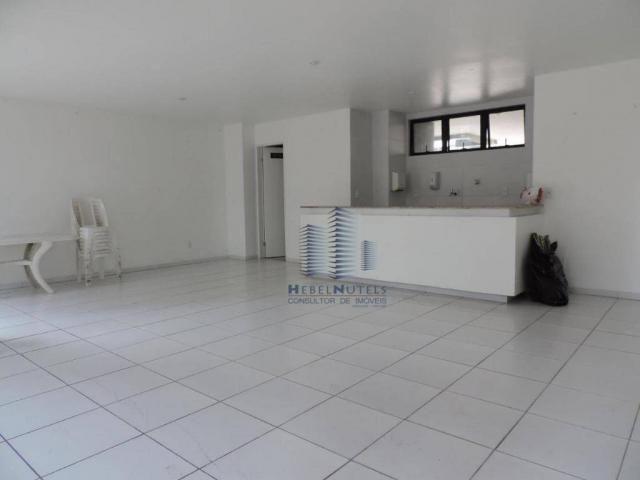 Apartamento com 4 dormitórios à venda, 133 m² por R$ 750.000 - Jatiúca - Maceió/AL - Foto 6