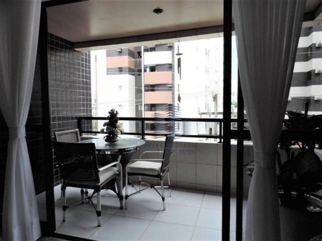 Apartamento com 4 dormitórios à venda, 133 m² por R$ 750.000 - Jatiúca - Maceió/AL - Foto 17