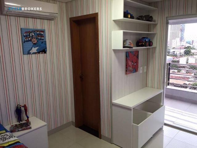 Cobertura no Edifício Sky Loft com 3 dormitórios à venda, 224 m² por R$ 1.300.000 - Bairro - Foto 14