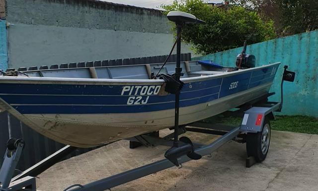 Barco Petty 500s com Carretinha - Foto 14