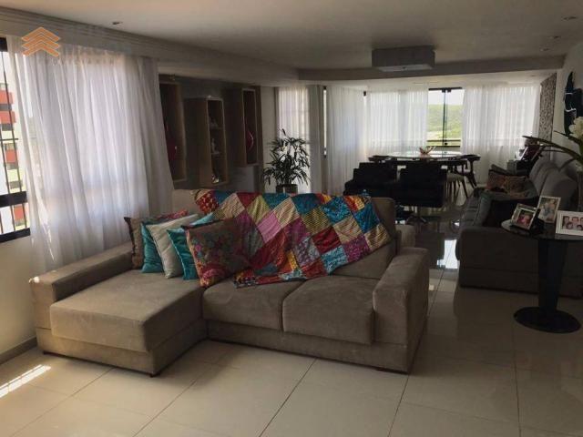 Apartamento com 3 dormitórios à venda, 235 m² por R$ 670.000 - Tirol - Natal/RN - Foto 8
