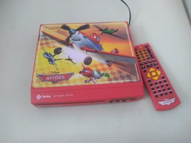 Dvd player aviões