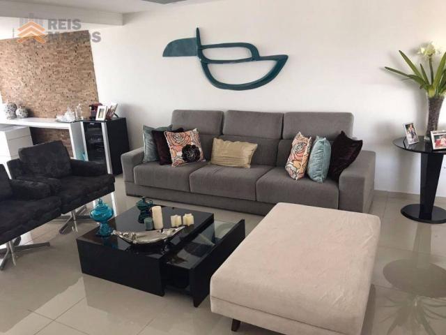 Apartamento com 3 dormitórios à venda, 235 m² por R$ 670.000 - Tirol - Natal/RN - Foto 12