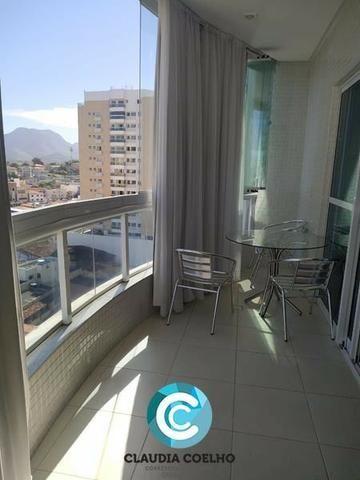 Belíssimo Apartamento 02 Quartos, Totalmente Mobiliado, na Praia do Morro! - Foto 5