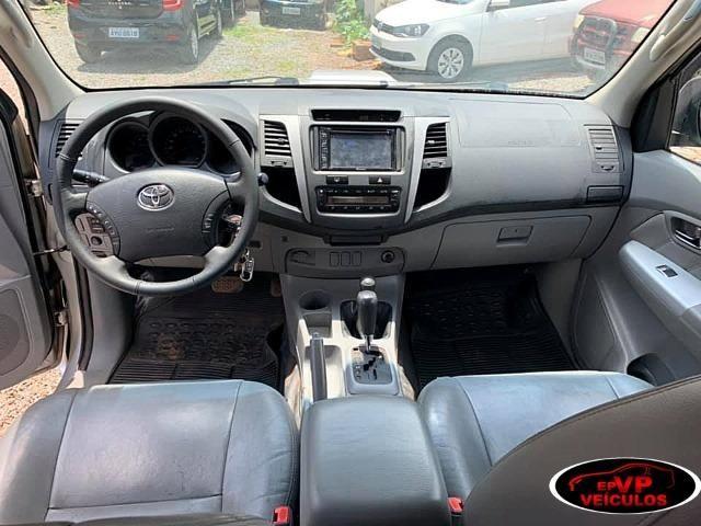 Toyota Hilux 2010 SRV Top de linha automatico ( Vendo a vista ou financiado AC troca ) - Foto 9