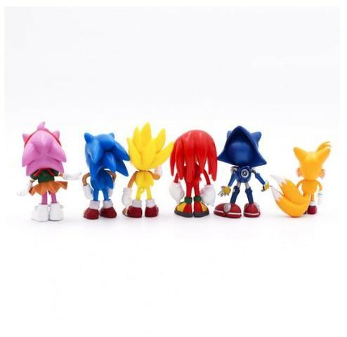 6 Miniaturas Sonic The Hedgehog/ Werehog Tails Mega Drive - Foto 3