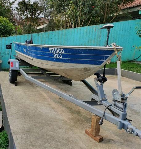 Barco Petty 500s com Carretinha - Foto 6