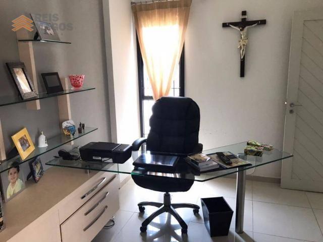 Apartamento com 3 dormitórios à venda, 235 m² por R$ 670.000 - Tirol - Natal/RN - Foto 7