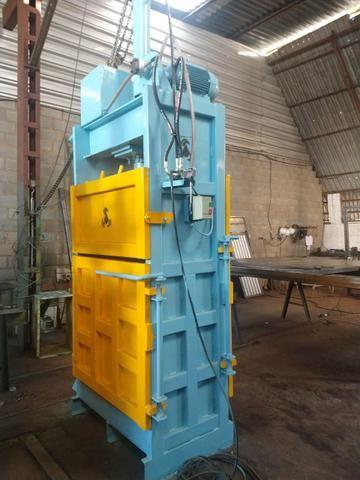 Enfardadeira prensa reciclagem pronta entrega - Foto 2