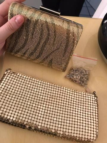 Kit 2 bolsas de mão