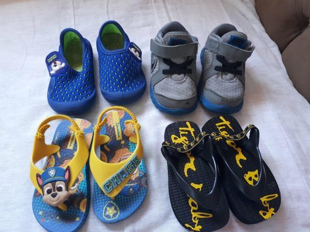 Calçados menino N 19