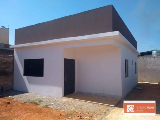 QSC 21 Taguatinga sul Casa nova 2 Qtos 10 Vagas ótimo espaço lote 360 metros - Foto 3