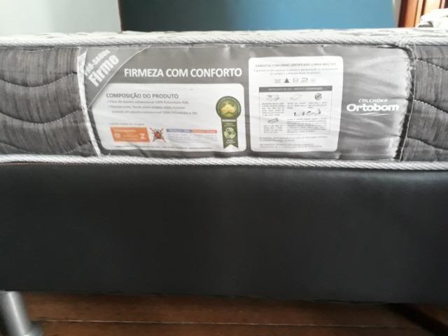 Cama Box + Colchão Ortobom - Foto 3