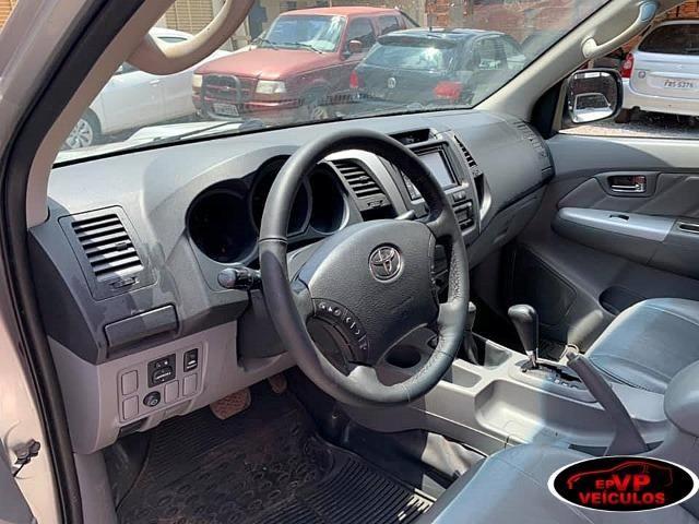Toyota Hilux 2010 SRV Top de linha automatico ( Vendo a vista ou financiado AC troca ) - Foto 10