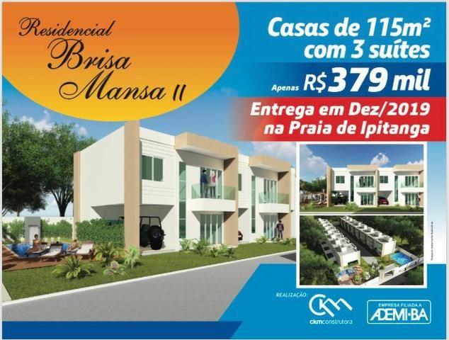 Lançamento Casa de 3 suites em Ipitanga R$ 379.000,00 - Foto 3