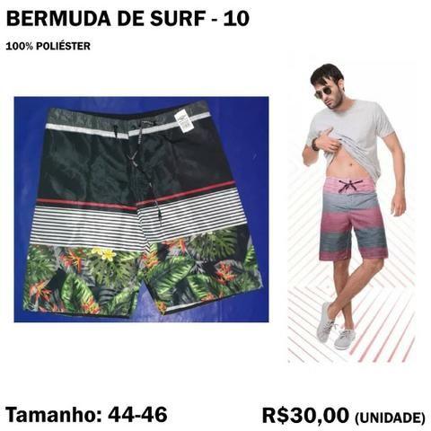 Bermuda Surf Surfista - Tamanho 44 - 46 - Foto 2