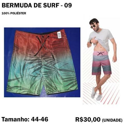 Bermuda Surf Surfista - Tamanho 44 - 46