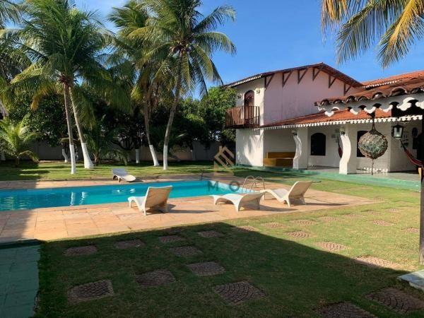 Casa com 6 dormitórios à venda, 400 m² por R$ 1.500.000,00 - Porto das Dunas - Aquiraz/CE - Foto 5