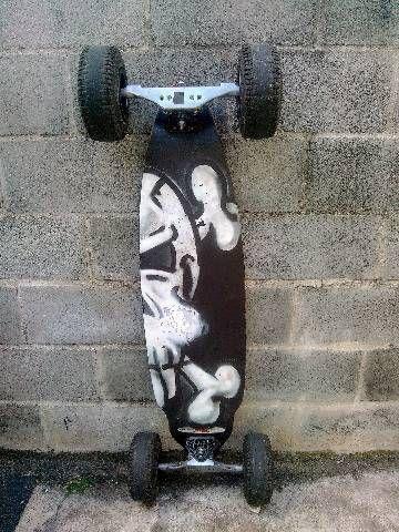 Skate carveboard; carve board; longboard; long board  - Foto 6