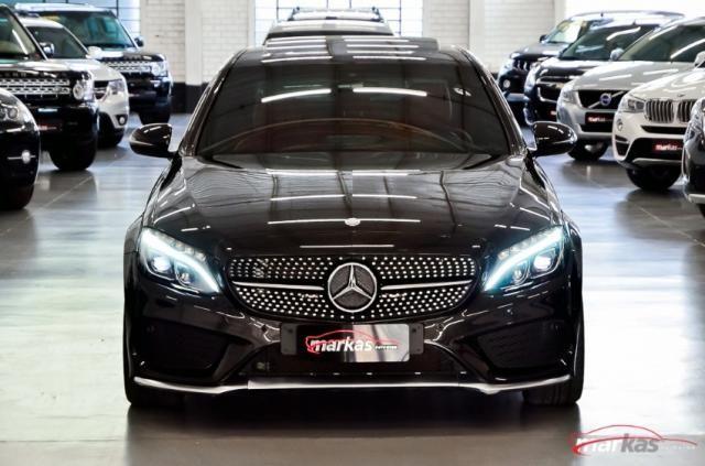 Mercedes C 450 C450AMG4M 367HP TETO 36 MIL KM 4P - Foto 2