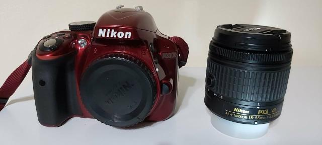 Câmera Nikon D3300 + Lente + Acessórios, troco por iphone 8