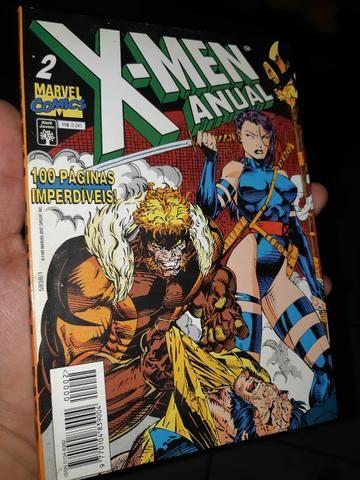 Xmen anual 2 história completa. 1995.