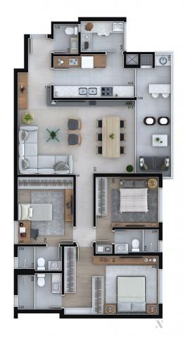 Apartamento residencial para venda, Cristo Rei, Curitiba - AP6996. - Foto 14