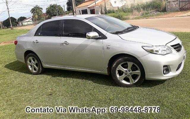 Toyota Corolla GLI Flex Ano 2012 Motor 1.8 Completo - Foto 3