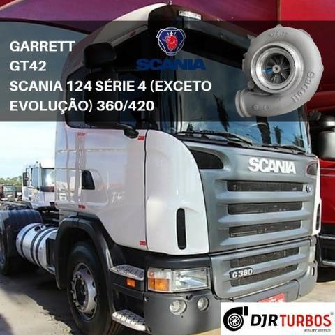 Turbina Scania 124 Série 4 (Exceto Evolution) 360/420