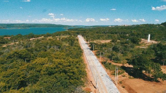 Lançamento todo pavimentado e com area de lazer.a beira do lago corumbá 4 - Foto 4
