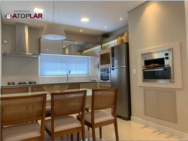 Apartamento garden com 3 dormitórios à venda, 208 m² por r$ 1.230.000,00 - pioneiros - bal - Foto 3
