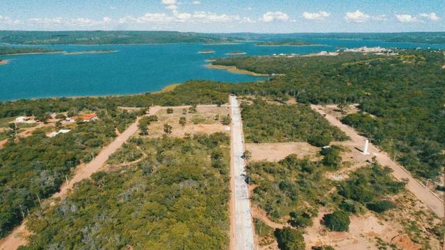 Lançamento todo pavimentado e com area de lazer.a beira do lago corumbá 4 - Foto 3