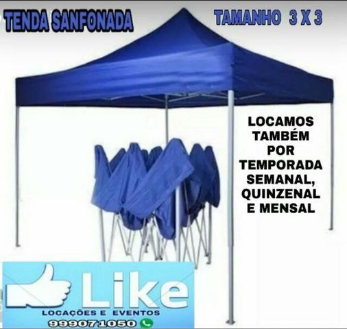 Locação de tendas/ promoção, diárias à partir de r$100,00 - Foto 2
