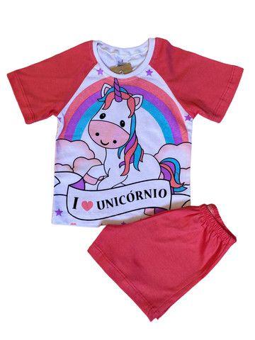 Pijama Infantil Unicórnio - Foto 3