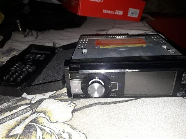 """Aparelho de som automotivo DVD Pioneer tela 3"""" - Foto 3"""