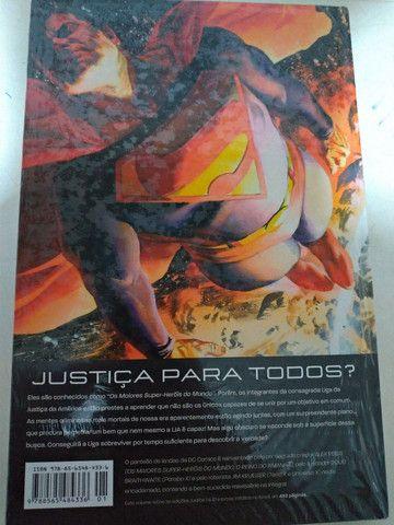 Hq Justiça edição definitiva lacrado - Foto 2
