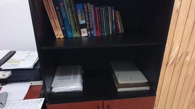 Mesa / cadeira e armário para escritório - Foto 5