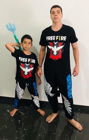 Roupas Free Fire infantil e juvenil  - Foto 6